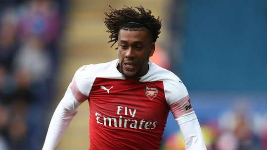 Alex Iwobi has dismissed claims he could leave Arsenal. GOAL