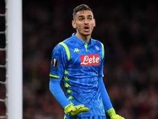 Napoli, Meret out: non convocato per la Lazio. Goal