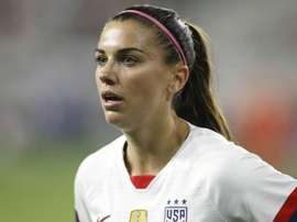 Alex Morgan will be hoping to defend the World Cup for USA in France. GOAL