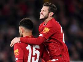 He scored for Liverpool. GOAL