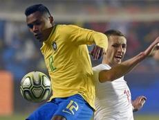 Brasil escalado com Alex Sandro na esquerda. Goal
