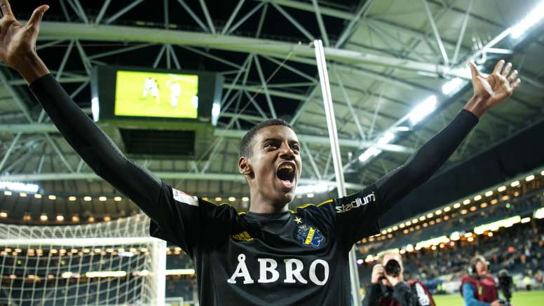 Alexander Isak has been handled as the new Ibrahimovic. Goal