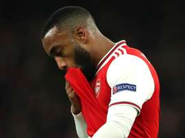 Arsenal, Lacazette : 'On doit se réveiller'. AFP
