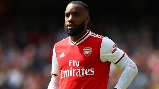 Lacazette back in full Arsenal training ahead of Sheffield United trip. GOAL