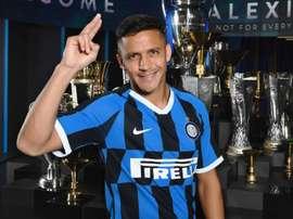 Alexis Sanchez Inter Milan 2019/2020