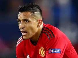 Alexis Sanchez Manchester United. Goal