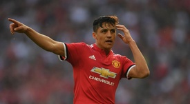 Alexis Sanchez has still been unable to join United on their pre-season tour in the US. Goal