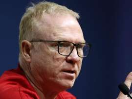 Alex McLeish preferred not to talk about his future. GOAL