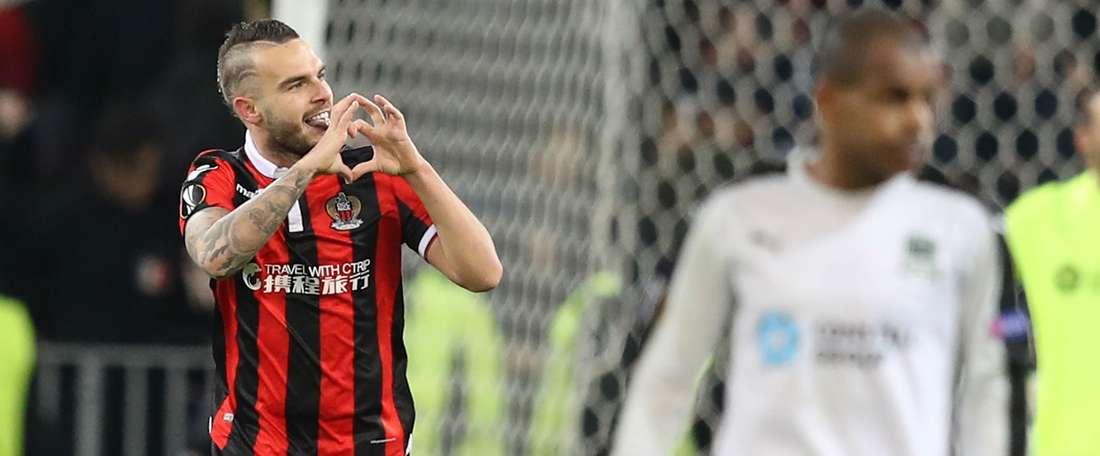 Alexy Bosetti Nice Krasnodar UEFA Europa League