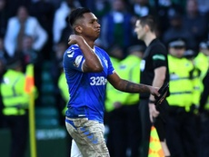 Rangers claim Alfredo Morelos is treated unfairly by the officials in Scotland. GOAL
