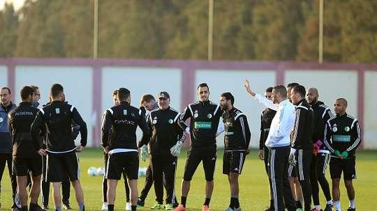 Le football algérien est malade. AFP