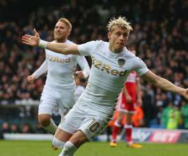 Alioski scored Leeds' second of the game. GOAL