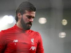 Alisson, o pior desfalque possível para o Liverpool. Goal