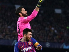 Alisson hoping to come out on top against Messi once more