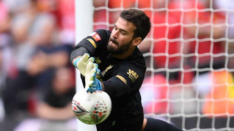 Alisson making 'steady progress', says Liverpool coach