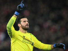 Alisson has been backed to recover from Liverpool blunder. GOAL