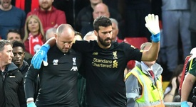 Alisson injury 'doesn't look too good' for Liverpool, says Klopp