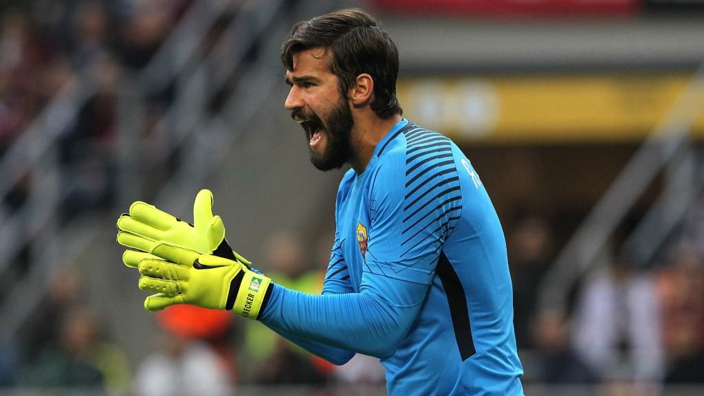 Roma willing to sell Alisson at the right price