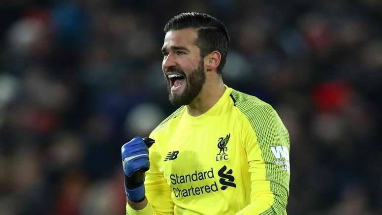 Alisson has a stunning first season for Liverpool. GOAL