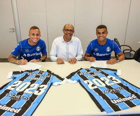 Grêmio dá aumento e novo contrato a Everton Cebolinha. Goal