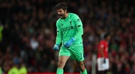 Alisson avait été transféré pour un montant record à Liverpool. Goal