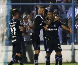 Alisson Ramiro Luan Atletico Tucuman Gremio Libertadores. Goal