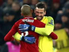 Liverpool were indebted to Alisson. GOAL