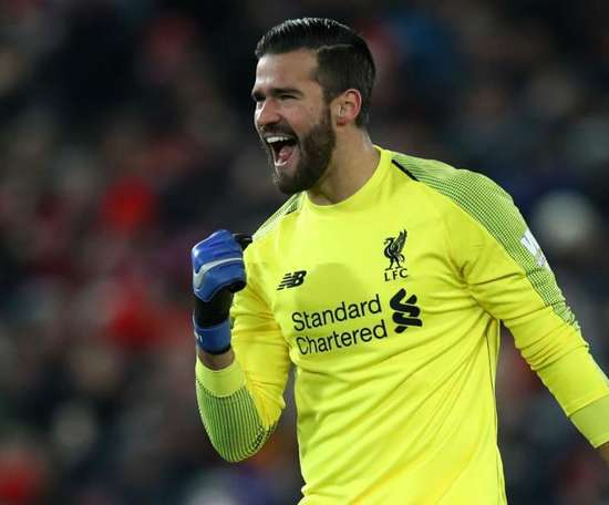 Alisson will be back for Liverpool this weekend at Old Trafford. GOAL