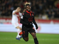 Saint Maximin anime souvent les matches de Nice. AFP