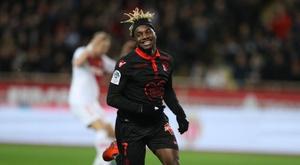 Saint Maximin anime souvent les matches de Nice. AFP