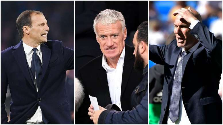 Allegri apre l'effetto domino: Deschamps-Juve, Zidane-Francia. Goal