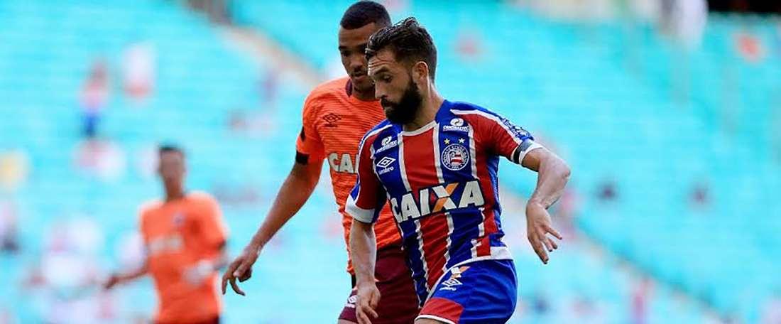 Allione defende atualmente as cores do Bahia. Goal