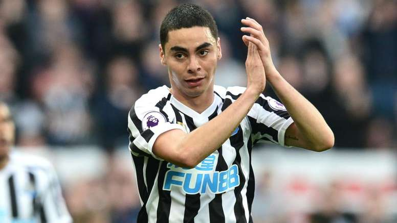 Almiron has caught the attention of the Spanish giants. GOAL