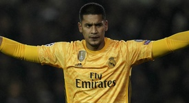 Le message d'Alphonse Areola, non retenu par le Real Madrid. goal