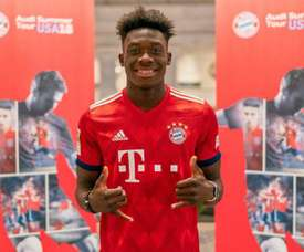 Davies made the move from the Vancouver Whitecaps to Bayern Munich. Goal
