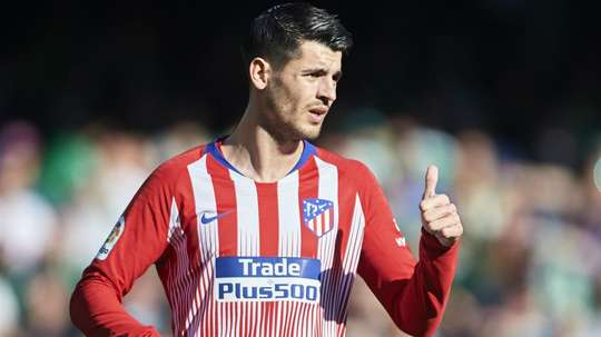 Morata's move hasn't been greeted well by some Atletico fans. GOAL