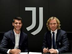 Alvaro Morata rêvait de revenir à la Juventus Turin. AFP