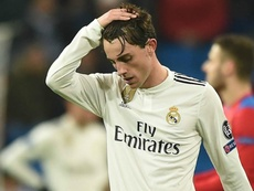 Alvaro Odriozola has broken his cheek. GOAL