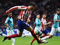 Simeone hopeful Morata is back on the goal trail for Atletico. AFP