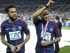 Alves backs Neymar to mature after World Cup criticism. Goal