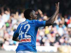 Diawara has promised Napoli will 'fight until the bitter end' in the Serie A title race. GOAL