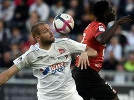 le Stade Rennais est tombé à Amiens. AFP