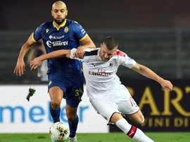 Amrabat Rebic Verona Milan