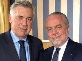 De Laurentiis su Ancelotti. Goal