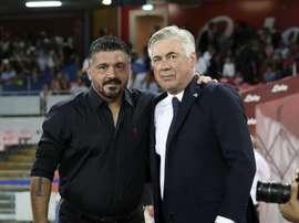 Napoli, è il giorno di Gattuso: firma con clausola Champions