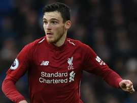 Robertson has been hugely influential for Liverpool this season. GOAL