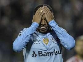 Andre Ribeiro Estudiantes Gremio Copa Libertadores. Goal