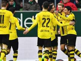 Andre Schurrle Werder Bremen Borussia Dortmund Bundesliga 21012017
