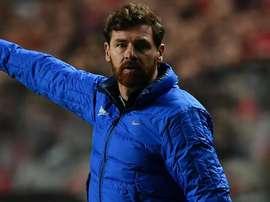 Andre Villas Boas managing with Zenit st Petersburg. GOAL