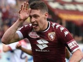 O atacante italiano tem jogado bem no Torino. Goal